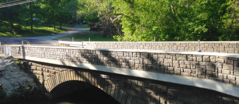 Triphammer Road Bridge Over Piney Fork Creek